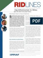 Financing Infrastructure in Africa