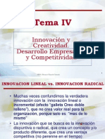 Tema IV - Innovacion y Creatividad