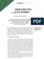 Leloup Les Therapeutes
