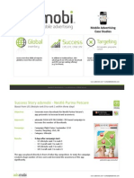 Adsmobi Mobile Advertising Case Studies June2011
