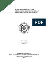Proposal Kontrak Belajar- VP-shunt