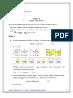 Lab Ekonometrika 2_lab3_2012 (Soal dan Jawaban) - Time Series 1