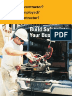 Build Safety in Your Work Place