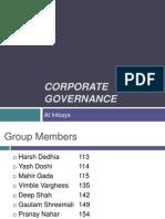 Corporate Governance Infosys