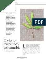 Efecto terapéutico del cannabis