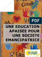Projet éducatif EELV 2012