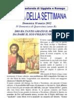 Agenda 18 Marzo 2012