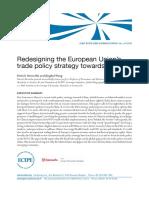 EU trade policy towards China (Eng)/ Política comercial de la UE respecto a China (Ing)/ EBren merkataritza politika Txinarekiko (Ing)