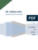 DR. Farida Dias