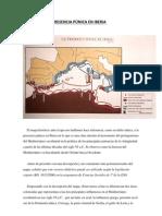 PRÁCTICA II, La presencia púnica en Iberia
