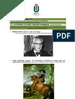 Conexión entre  Antropología e Historia. ANTONIO JAVIER CRESPO FERRIOL