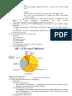 ECO209 Present Outline