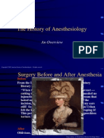 8_8-04 History of Anesthesiology