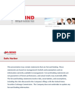 Investor - Mind Financial Presentation