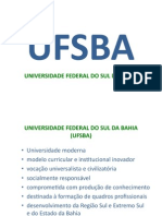 PROJETO UFSBA 01