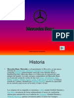 Mercedes Benz-PREZENTACIÓN EN POWER POINT