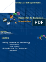 Introduction to Computer - Lecture 1