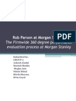 Rob Parson at Morgan Stanley-360 Degree Feedback_Group 2