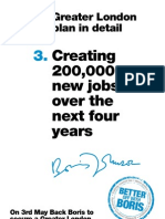 Creating 200,000 new jobs over the next four years