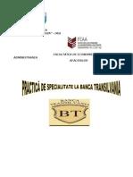 Proiect Practica de Special It Ate - Banca Transilvania