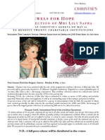 Jewels For Hope  The Collection Of Mrs Lily Safra ay Christie's
