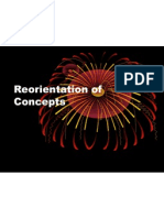Reorientation of Concepts