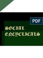 Social Encyclicals