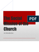 The Social Mission of the Church_1