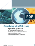 Complying With ISO 17025 a Practical Guidebook[1]