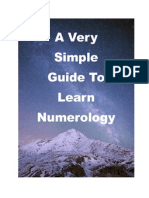 A Very Simple Guide to Numerology