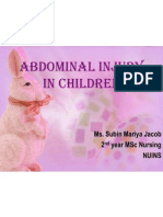 Abdominal Injury in Children