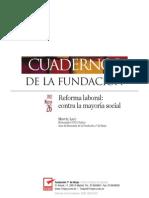 Cuaderno Reforma Laboral Marzo 2012