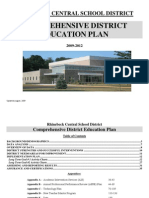 Comprehensive District Education Plan Rhinebeck Central School District State of NY