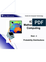 W4 Probability Distributions