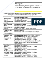 What's on in Haringey Libraries  April 2012