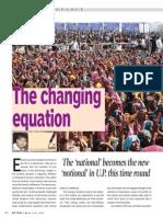 Changing Equation