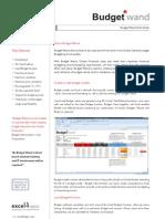 Budget Wand Datasheet