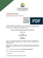 LC 008 - 2007 - Código Tributário Municipal ATUALIZADA