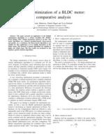 Comparitive Analysis of BLDC Design