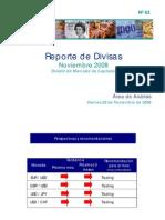 Reporte Divisas Nov 2008