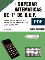 Cómo Superar las Matemáticas de 1º de B.U.P.