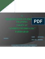 Presentation Hydro