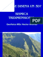 Alfonso - Como Se Genera Un 3D, Sismica Tri Dimensional