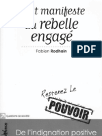 Petit Manifeste Du Rebelle Engage