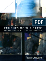 Patients of the State by Javier Auyero
