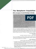 DRL and Beta Pharma Whole Deal