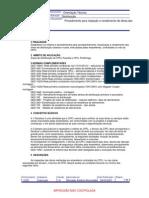 Procedimento para inspeção e recebimento de obras - GED 11227 - 29-03-2007