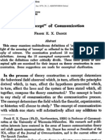 Dance, The Concept of Communication