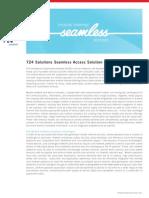 724 Solutions Seamless Access DataSheet