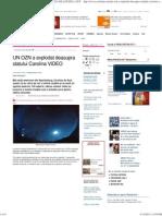 UN OZN a Explodat Deasupra Statului Carolina VIDEO _ tea